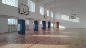 Remont sali gimnastycznej i zakup pomocy dydaktycznych