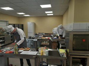 28 stycznia rozpoczęły się w zajęcia praktyczne w pracowni gastronomicznej